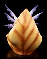 Fairy Figurine - Jeora on Brown Leaf