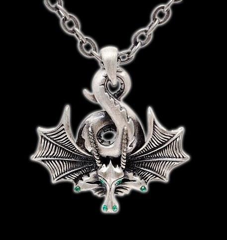 Halskette mit Drachen - Sleeping Dragon