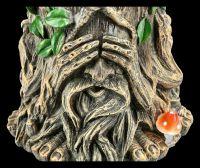 Flower Pot - Greenman No Evil