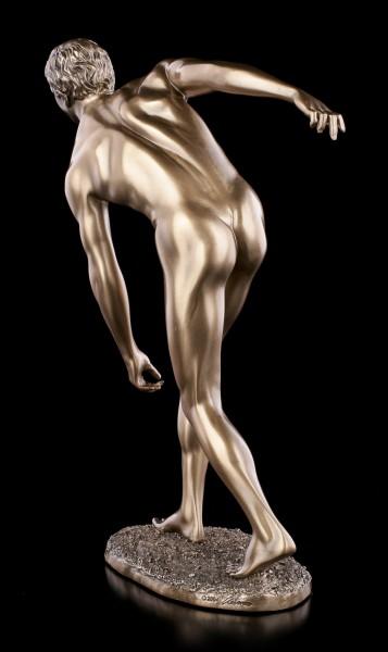 Male Nude Figurine - Discobolus