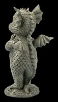 Small Garden Figurine - Yoga Dragon