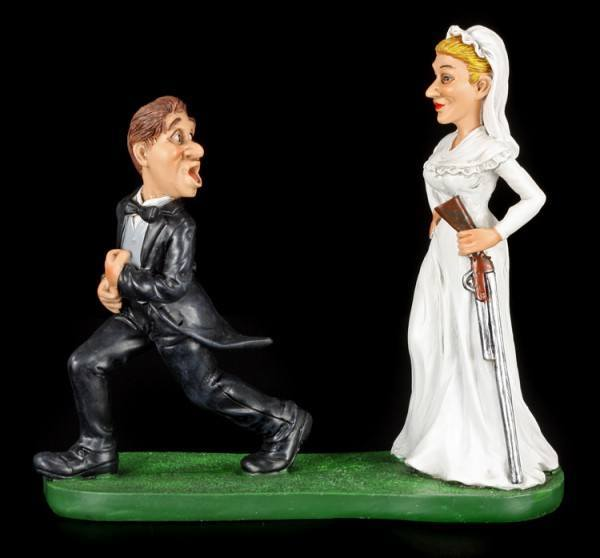 Till death do us part - Funny Wedding Figurine
