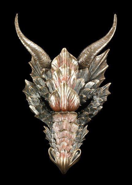 Wandrelief - Drachenmaske