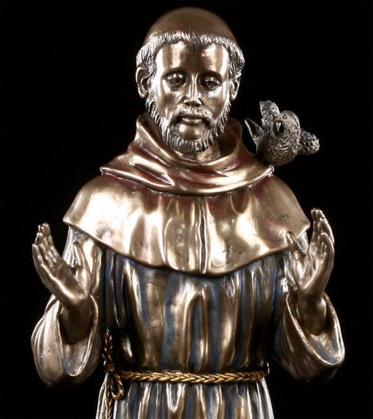Heiliger Franziskus - Figur
