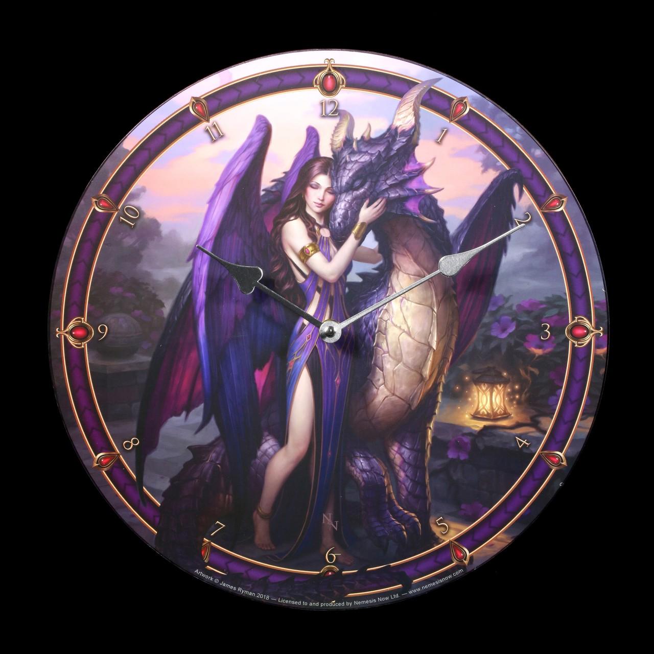 Wall Clock - Dragon Sanctuary