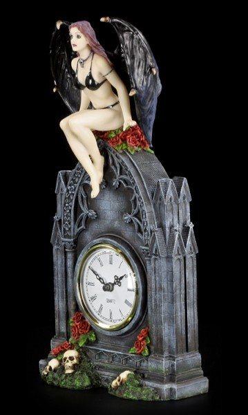 Tischuhr - Vampirin Dark Angel