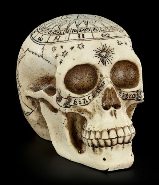 Astrological Skull - Sign Of The Zodiac
