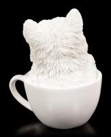 Dog Figurine - Westie Teacup Pup