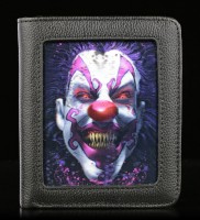 Wallet with 3D Horror Clown - Keep Smiling