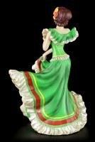 Flamenco Tänzerin - Day of the Dead - Grün