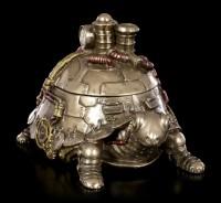 Steampunk Figur - Schildkröte als Schatulle