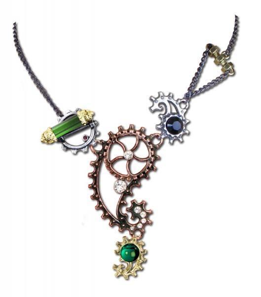 Alchemy Steampunk Halskette - Ingenieurial Elegance