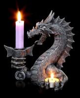 Dragon Candle Stick & Tealight Holder