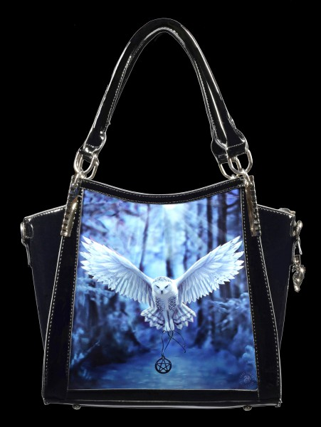 Lack Handtasche mit 3D Motiv - Awaken your Magic