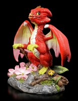 Drachen Figur - Apple Dragon by Stanley Morrison