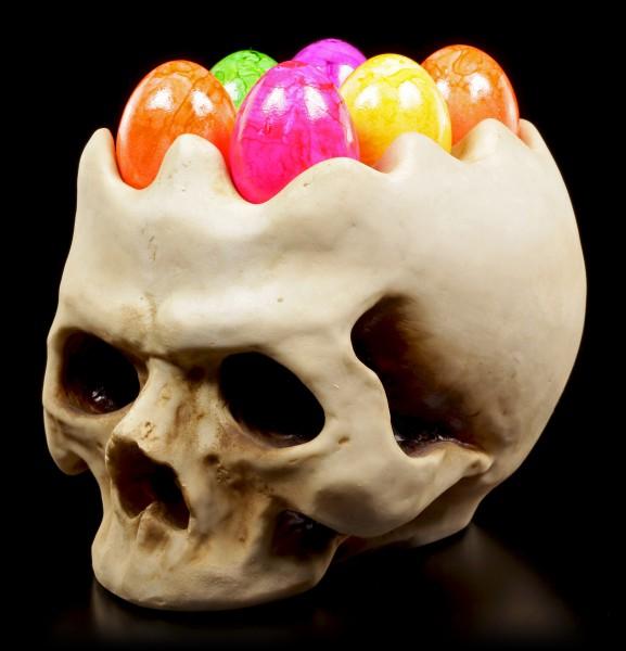 Totenkopf Eierbecher - Egg Head