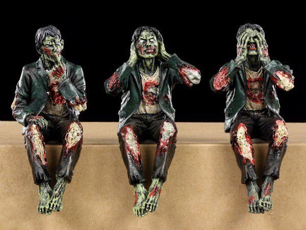 Zombie Kantenhocker - 3er Set
