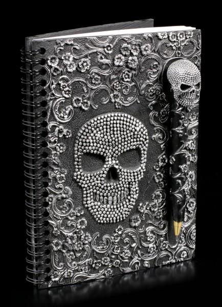 Notizbuch mit Kugelschreiber - Baroque