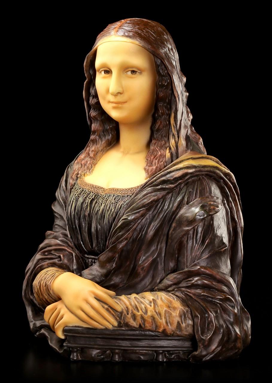 Mona Lisa Bust - Adapted from Leonardo Da Vinci's Painting