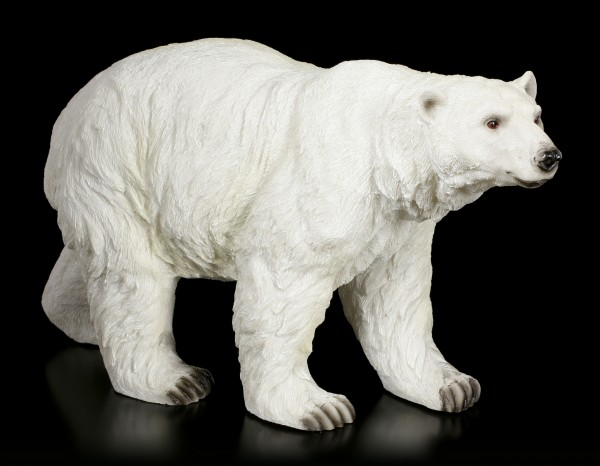 Eisbären Figur gehend