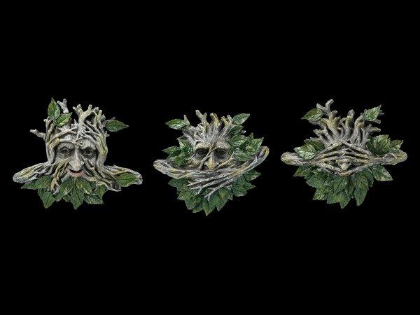 Greenman Wandrelief Set - Nichts Böses