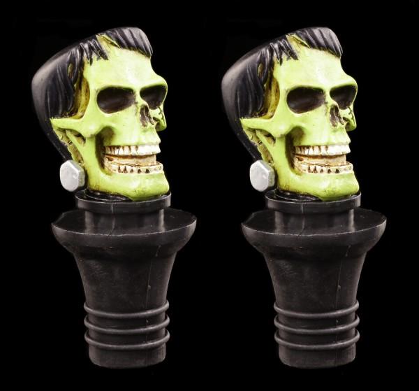 Flaschenverschluss 2er Set - Frankenstein