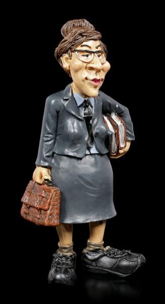 Funny Job Figurine - Female Strict Teacher