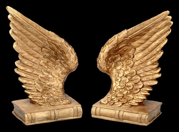 Bookends Set - Angel Wings