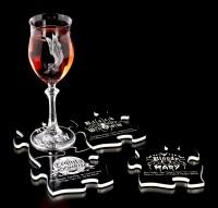 Alchemy Jigsaw Coaster Set - Gothic Cocktails