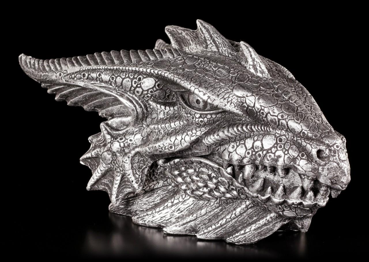 Drachen Schatulle - Gut bewacht - silber