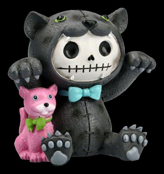 Large Furrybones Figurine - Panther Basheera
