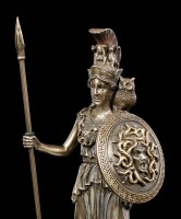 Athena Figurine with Spear and Shield
