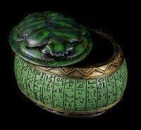 Green Scarab Box