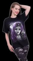 Spiral Fantasy T-Shirt - Goth Doll