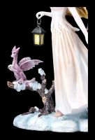Fairy Figurine - Winter Solstice with Dragon