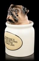 Pug Figurine as Cookie Jar