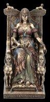 Cleopatra Figurine - Sitting on Throne
