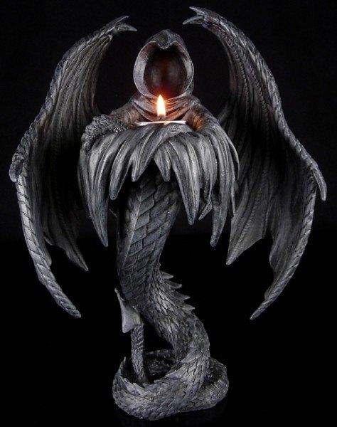 Schattenwesen Teelichthalter- Dämonen Figur