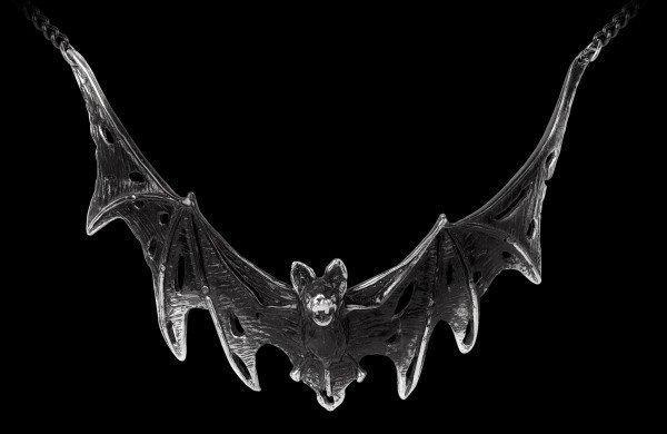 Alchemy Necklace with Bat - Villa Diodati