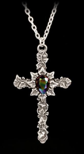 Alchemy Gothic Halskette - Ivy Cross