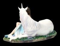 Unicorn Figurine - Pure Heart by Anne Stokes