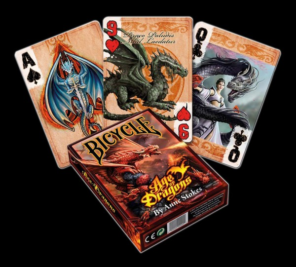 Poker Playing Cards - Age of Dragons