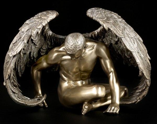 Männlicher Engel - Akt Figur - Angels Rest