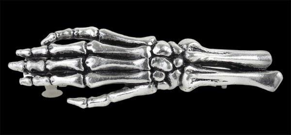 Get a Grip - Alchemy Skeleton Hand Hair Slide