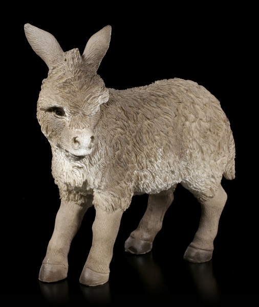 Stehende Esel Figur