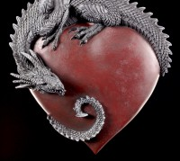 Drachen Wandrelief - Dragon Heart