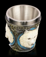 Ghost Wolf Shot Cups - Set of 4