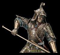 Samurai Figurine with Spear