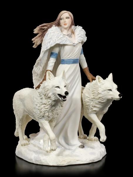 Figur Wolf Wächter - Winter Guardians by Anne Stokes