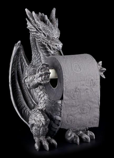 Toilettenpapierhalter - Stehender Drache